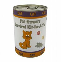 Cat Owners Survival Kit In A Tin